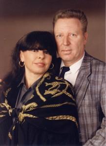 Mit Ehefrau Uta
