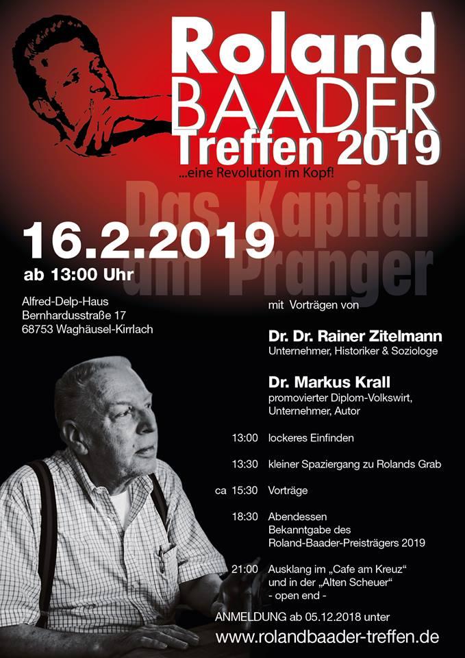 Roland Baader Treffen 2019
